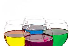 Free Colorful Drinks Royalty Free Stock Photos - 36674068
