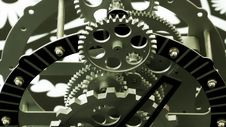 Clock Gears Stock Photos
