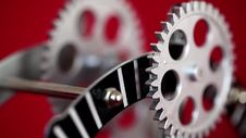 Free Clock Gears Royalty Free Stock Photos - 36676238