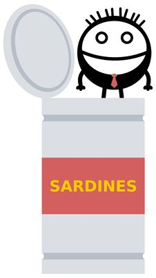 Sardine Business Royalty Free Stock Images