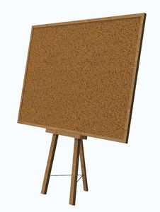 Free Empty Blank Cork Board Royalty Free Stock Photos - 36678628