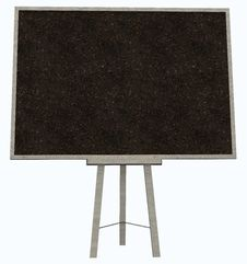 Free Empty Blank Cork Board Stock Images - 36678694