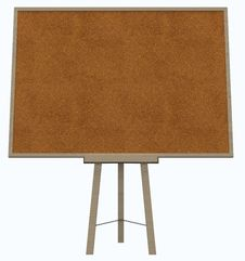 Empty Blank Cork Board Stock Photos