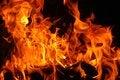 Free Burning Firewood XXXL Stock Photo - 36680460