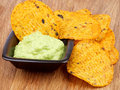 Free Chips And Guacamole Royalty Free Stock Photo - 36684545