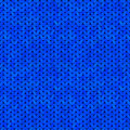 Free Blue Seamless Knitted Texture Stock Photography - 36685932