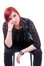 Free Thoughtful Teenage Urban Girl Stock Photo - 36686780