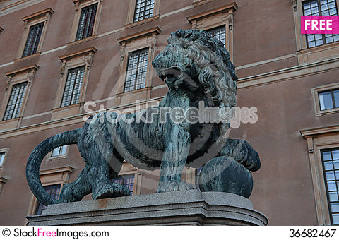 Free Lion Guard Royalty Free Stock Photography - 36682467