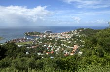 Free The Caribs. Grenada Island. Stock Image - 36682581