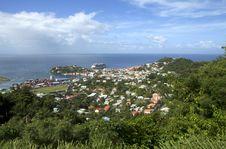 Free The Caribs. Grenada Island. Stock Image - 36682581