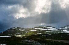 Free Snow In Campo Imperatore, Abruzzo, Italy Stock Photo - 36683300