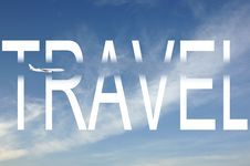 Free Travel By Plane Royalty Free Stock Photos - 36684108