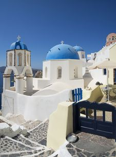 Free Oia Santorini Greece Stock Images - 36684484