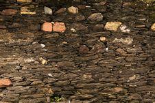 Free Stone Wall - 18th Century Royalty Free Stock Photos - 36687178
