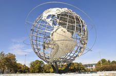 Free The Unisphere Royalty Free Stock Image - 36688016