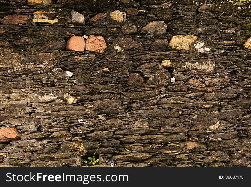 Texture - Ancient Stone Wall - 18th Century