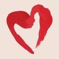 Free Sketch Valentine Paint Blot Stock Photos - 36692013