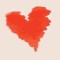 Free Sketch Valentine Paint Blot Stock Photo - 36692090