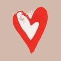 Free Sketch Valentine Paint Blot Stock Photos - 36692133