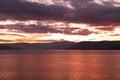Free SunSet Over Lake Okanagan Royalty Free Stock Photography - 36694067