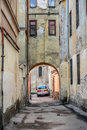 Free Gateway In Old Lviv Royalty Free Stock Photography - 36697327