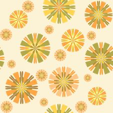 Free Seamless Floral Pattern Royalty Free Stock Photography - 36691427