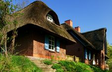 Free Thatched-Roof Farm House Stock Images - 36693014