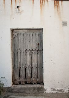 Free Wooden Door Stock Photos - 36694843