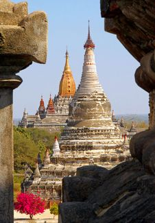 Free Ancient Temples Bagan Stock Image - 36695791