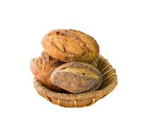 Free Healthy Bread In Basket Royalty Free Stock Images - 36696639