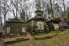 Free Medieval Tombs At Cemetery Royalty Free Stock Photography - 36697317