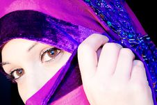 Free Veiled Woman. Stock Photography - 36698312