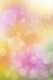 Free Abstract Colorful Spring Background Stock Image - 36699791