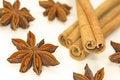 Free Cinnamon Sticks And Anise Stars Stock Photo - 3671380