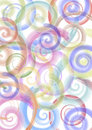Free Colored Spirals Royalty Free Stock Photos - 3675618
