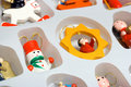 Free Christmas Toys In Box Royalty Free Stock Images - 3675759