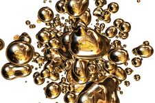 Free Shine Of Blobs Royalty Free Stock Photo - 3670215