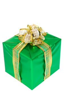 Beautifully Packed Gift Stock Photos