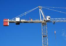 Construction Crane Royalty Free Stock Photography