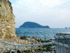 Free Rope Bridge Island Stock Images - 3670854