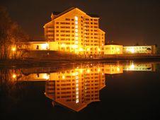 Free Lake At The Night Stock Photos - 3671003