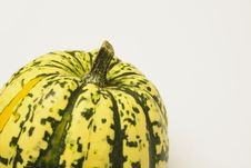 Free Green And Yellow Ornamental Squash Royalty Free Stock Images - 3672279