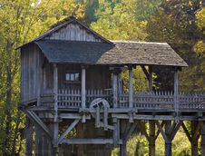 Saw And Grist Mill Stock Photography