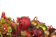 Free Christmas Decoration Royalty Free Stock Photo - 3673625