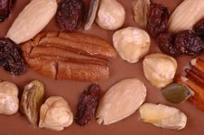 Free Mixed Nuts Royalty Free Stock Photos - 3673908