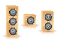 Icon Speaker Royalty Free Stock Photo