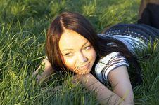 Free Teen Girl Lays Stock Photos - 3674313