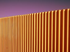 Free Corrugated Fence Royalty Free Stock Photos - 3674878