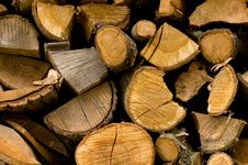 Free Stack Of Wood Stock Image - 3675001