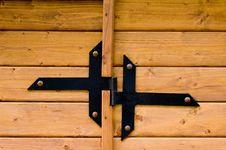 Free Door Detail Royalty Free Stock Photo - 3675045